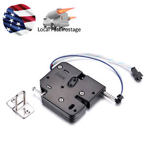 Dc12v Electric Sensor Lock Cabinet Door Release Rim Vending Mortice Ship From Us