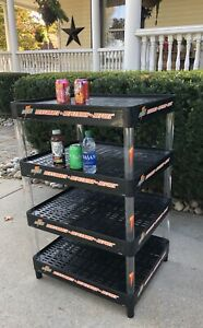 Vintage Plastic Gatorade Store Shelf Display Storage Adjustable Shelves 2003 Usa