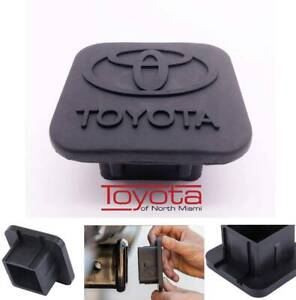 Trailer Hitch Tube Cover Plug Cap For Toyota Logo Rubber R Pt228 35960 Hp