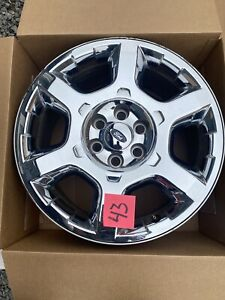 2012 14 Ford F150 Expedition 20 Oem Chrome Clad Alloy Wheel Rim 3916