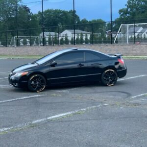 18 Inch Honda Civic Si Oem Wheels 4 With New Goodyear Tires fits Most Hondas