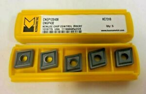 Kennametal 5 Pcs Cngp 432 120408 Kc7310 Carbide Inserts Turning Lathe New