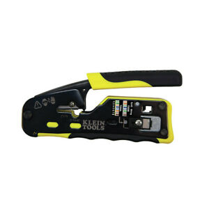 Klein Ratcheting Cable Crimper wire Stripper wire Cutter Vdv226 110 New