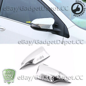 For Toyota Camry 12 17 Chrome Mirror Covers Molding Trim W Turn Signal Cutout