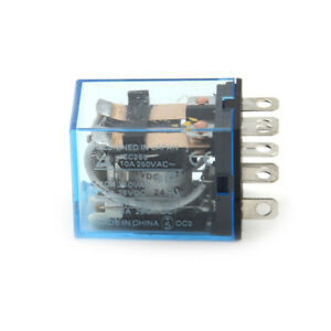 My2p Hh52p My2nj Relay Dc 12v Coil General Purpose Dpdt Micro Mini Relay G3