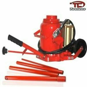 50 Ton Air Over Hydraulic Bottle Jack Lift Lifter