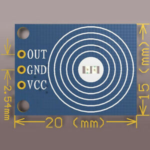 1 Pcs Capacitive Touch Switch Module Digital Touch Sensor Led Dimming 10a Cy
