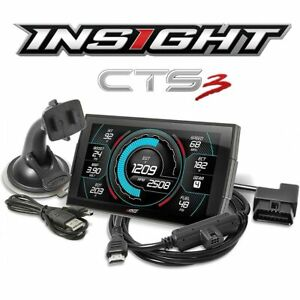 Edge Insight Cts3 Touchscreen Gauge Monitor Display For 1996 Up Gas Diesel