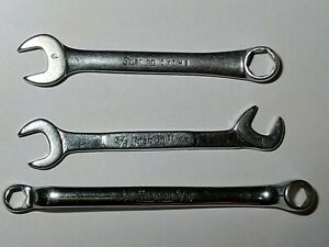 Snap On Dwarf Mini Wrenches Ignition Open End Boxocket Combo Wrench Set