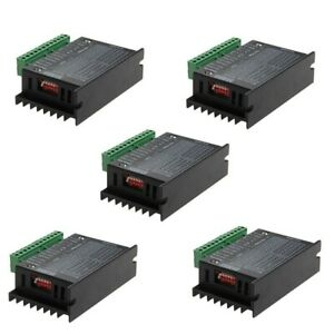5pcs Cnc Single Axis 4a Tb6600 2 4 Phase Hybrid Stepper Motor Controller Drivers