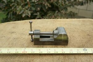 Vintage Yankee North Bros No 992 Drill Press Machinist Vise 2 Jaws 2 opening