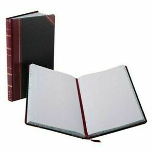 Boorum Pease 9300r Record account Book Black red 300 Pages 14 1 8 X 8 5 8