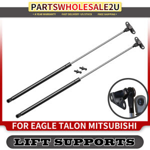 2x Tailgate Lift Support Shock For Eagle Talon Mitsubishi Eclipse Plymouth Laser