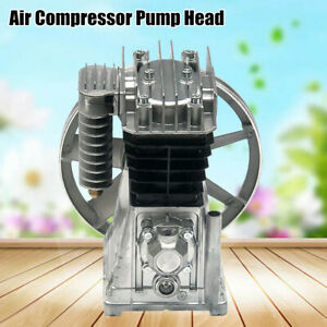 3hp Piston Cylinder Oil Lubricated Air Compressor Pump Head 250l min Usa Ship