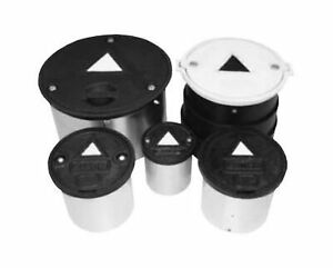 Emco Wheaton 567150 Lid Ductile White For 8 Monitor Well Mh Bolt Down 8