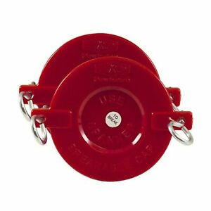 2 1 2 Plastic Breakable Fire Department Connection fdc Cap For Sprinkler A