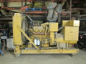 Caterpillar Cat Sr4 Generator Genset With Housing And Fuel Tank