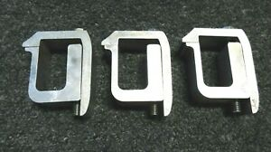 3 Gci Truck Cap Topper Shell Mounting Clamp Mount Pickup Camper Bed Lot Used