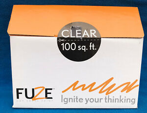 Fuze Dry Erase Paint Kit For 100 Sq Ft Clear New In Box