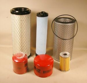 Takeuchi Tb135 Excavator Annual Filter Kit For S n 13514050 And Up