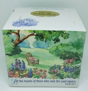 Vintage 1998 Faithful Reminders 650 Sheet Mixed Cube Post it Notes