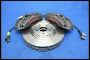 2005 2014 Ford Mustang Gt 6 Piston Brembo Calipers W Lines 15 Inch Rotors Pads