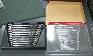 Soexm710 Snap On 10 Piece Metric Flank Drive Plus Combination Wrench Set