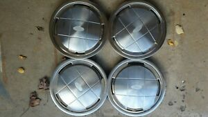 Set Of 4 1986 Ford Aerostar Hubcaps Wheel Cover Hub Cap 14 Oem