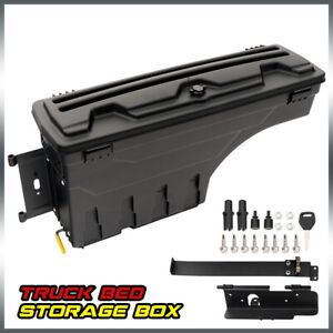 For Toyota Tundra 2007 2020 Rear Left Driver Side Truck Bed Storage Box Toolbox