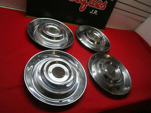 1954 1955 Cadillac Hubcaps Wheel Cover Set Of 4 For 15 Wheel