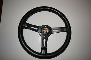 Fiat Abarth Vintage Steering Wheel And Hub