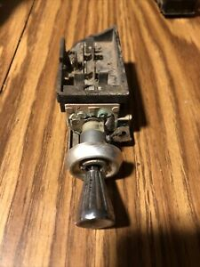 Oem 61 62 1963 Chevy Impala Biscayne Bel Air Corvette Headlight Switch Knob 63