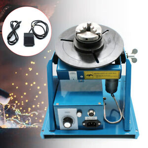 10kg Rotary Welding Positioner Turntable Mini 2 5 3 Jaw Lathe Chuck By 10