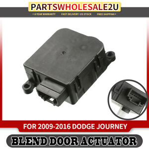 Heater Blend Air Door Actuator For Dodge Journey 2009 2016 604036 Rear Auxiliary