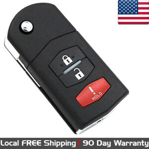 1x New Replacement Keyless Entry Remote Control Key Fob For Mazda Cc43 67 5ryc