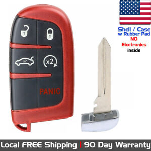 1x New Keyless Entry Remote Key Fob Case Shell For Dodge Jeep M3n 40821302