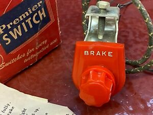 Vintage Gm Mopar Ford Accessory Hand Brake Dash Signal Light Switch Illuminates