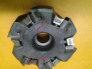 4 Tungaloy Tac Mill Indexable Face Mill 1 5 Arbor Tse4004ria u ms 182