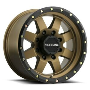 New Set Of 4 Raceline Wheels Defender 17x9 8x170 12 Bronze