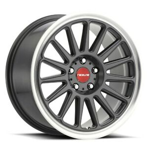 New Set Of 4 Raceline Wheels Grip 18x8 5 5x100 35 Gunmetal