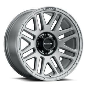 New Set Of 4 Raceline Wheels Outlander 16x8 5x114 3 0 Greystone