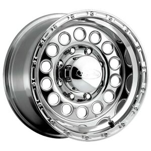 New Set Of 4 Raceline Wheels Rockcrusher 16x8 8x165 1 20 Chrome