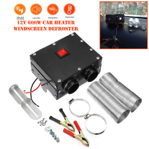 12v Car Heater Heating Warmer Windscreen Defroster Demister 600w Air Conditioner