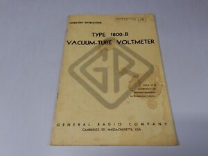 General Radio Operating Instructions 1231 b 1800 b 1232 a 1690 a Many More