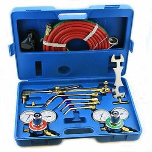 Victor Style Gas Welder Welding Torch Kit Ul Listed Outfit Set