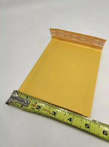 50 pack 4x6 Small Self Seal Kraft Bubble Mailers Padded Envelopes 4 X 6