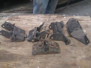 Ford Small Block Motor And Frame Mounts Used