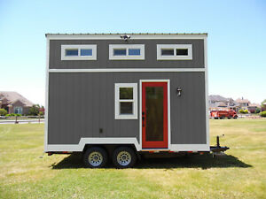 Brand New 2021 16 Ft Tiny House On Wheels Shell Thow Complete Home Shell