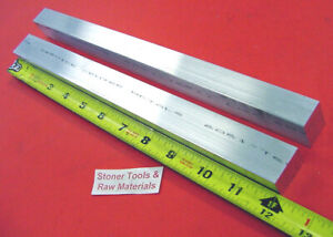 2 Pieces 5 8 X 1 Aluminum 6061 Flat Bar 12 Long Solid New Extruded Mill Stock