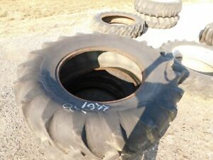 Two Armstrong 18 4 30 Tractor Tires set Tag 1977